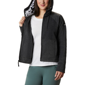 Columbia Exploration Fleece Full Zip Kapuzenjacke Damen charcoal heather